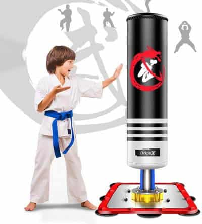 Dripex Freestanding Punching Bag for kids