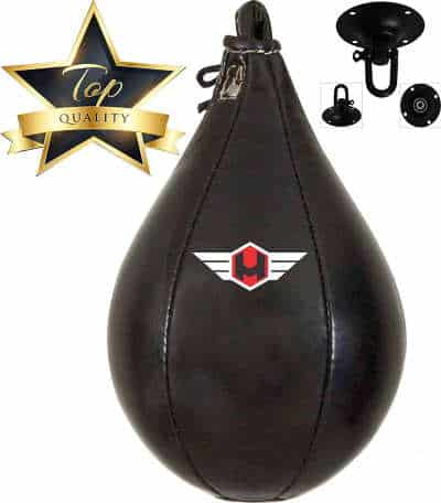 Hunter Leather Speed Bag