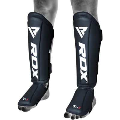 RDX t1_leather_shin_guards